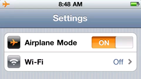 एयरप्लेन मोड (Airplane Mode) क्या है कैसे इस्तेमाल करे